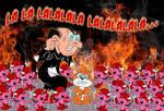 Gargamel's Hell by acla13