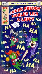 Evil Comics Group Shamelessly Presents