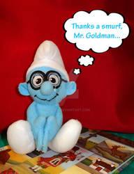 Thanks a Smurf...