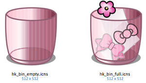 Hello Kitty - Pink Bin