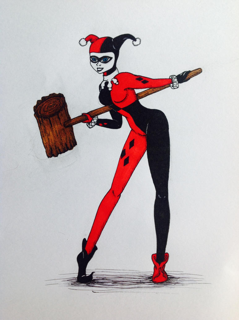 Harley Quinn by Xinmai
