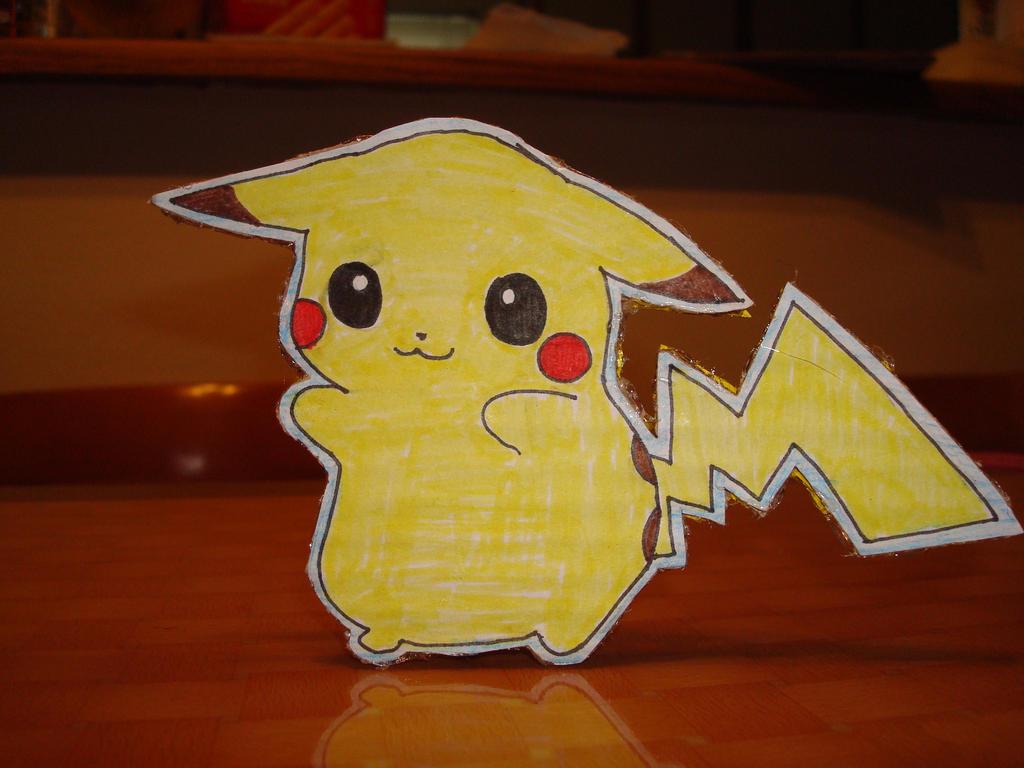 Pikachu Standing by tinani81600