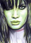She-Hulk Sketch Card