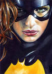Batgirl Sketch Card 1