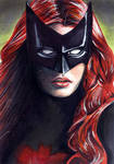 Batwoman Sketch Card 1