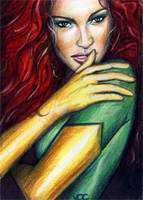 Phoenix Sketch Card 1 by veripwolf