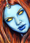 Mystique Sketch Card 4