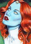 Sketch Card 3 - Mystique