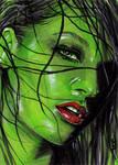 She-Hulk Sketch Card 5