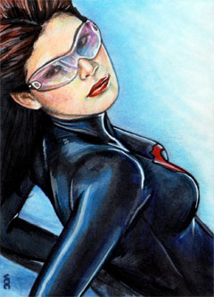Baroness Sketch Card 2 by veripwolf