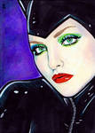 Catwoman Sketch Card 6