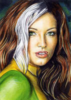 Rogue Sketch Card 15 by veripwolf