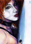 Typhoid Mary Sketch Card 1