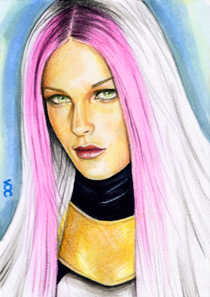 Songbird Sketch Card 1 by veripwolf