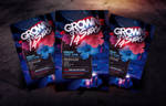 Grown and Sexy 14 Flyer Template