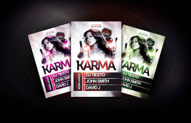 Karma Flyer Template by Dannygdesigns