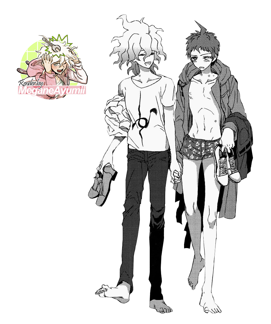 komahina render by MeganeAyumii