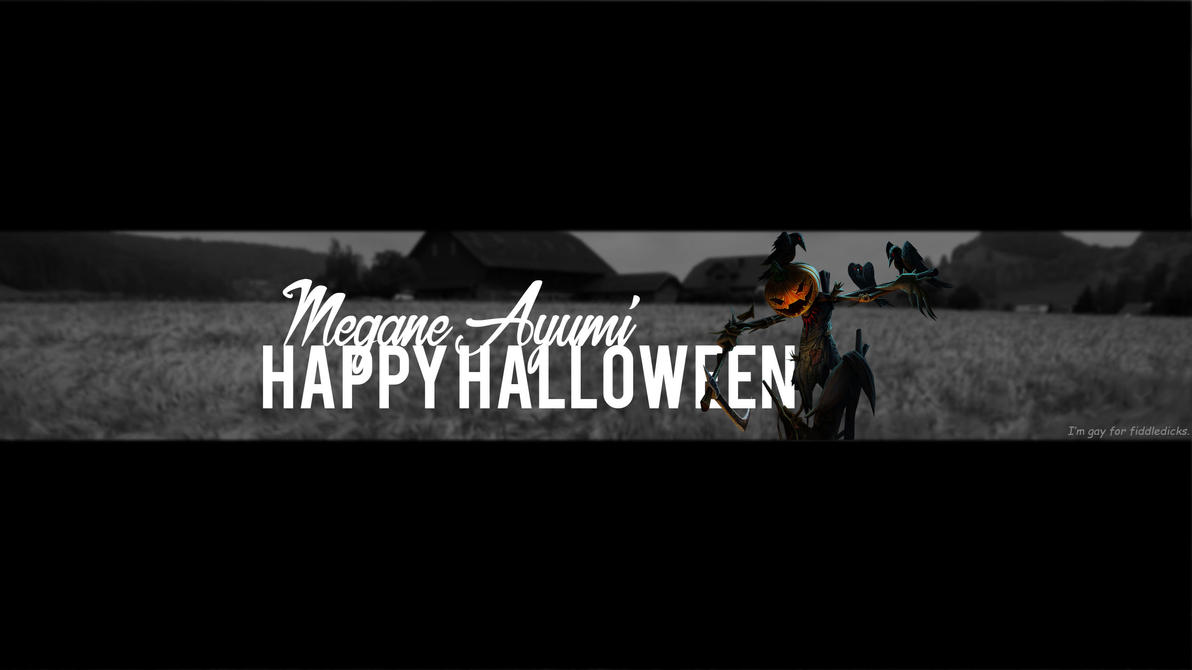 New halloween banner by MeganeAyumii