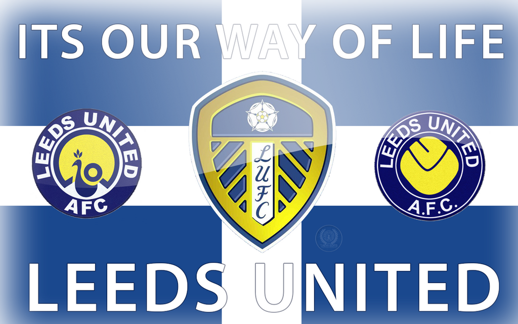 Leeds United By TReviDesigns On