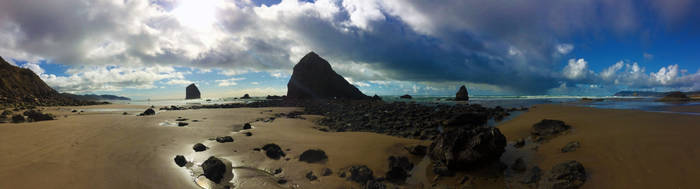 Cannon Beach by StarlightGunfighter