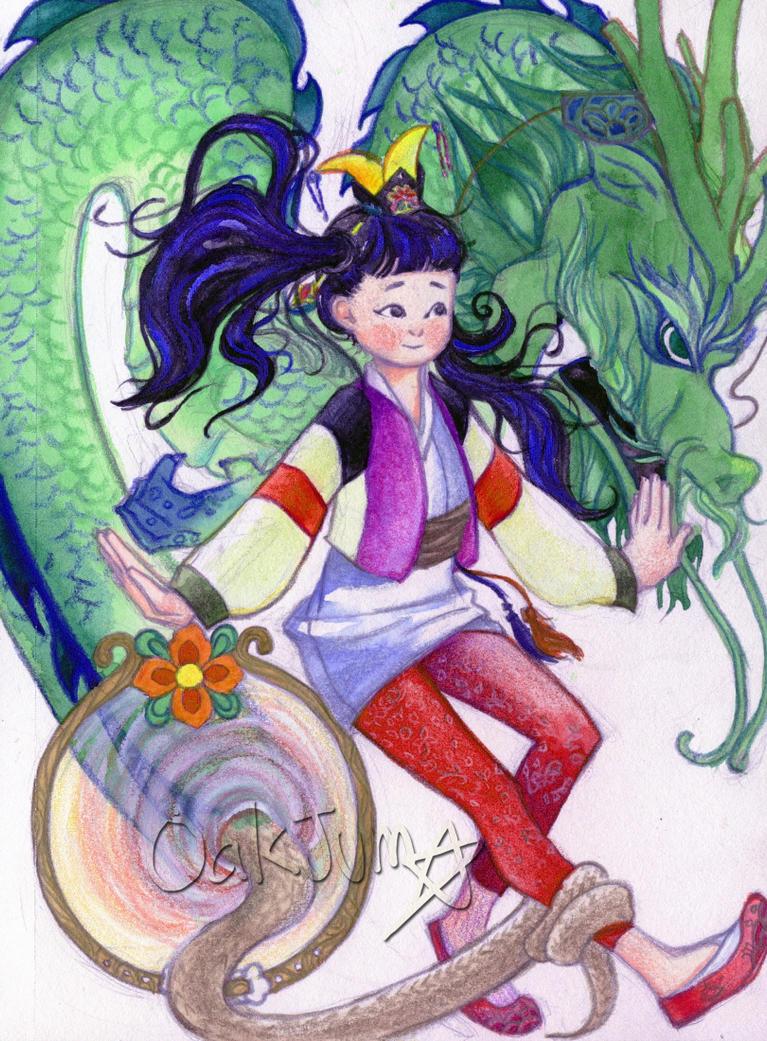 Magical Girl by OakJum9014