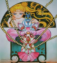 Sailor Chibi Moon Power! by S7arByeol