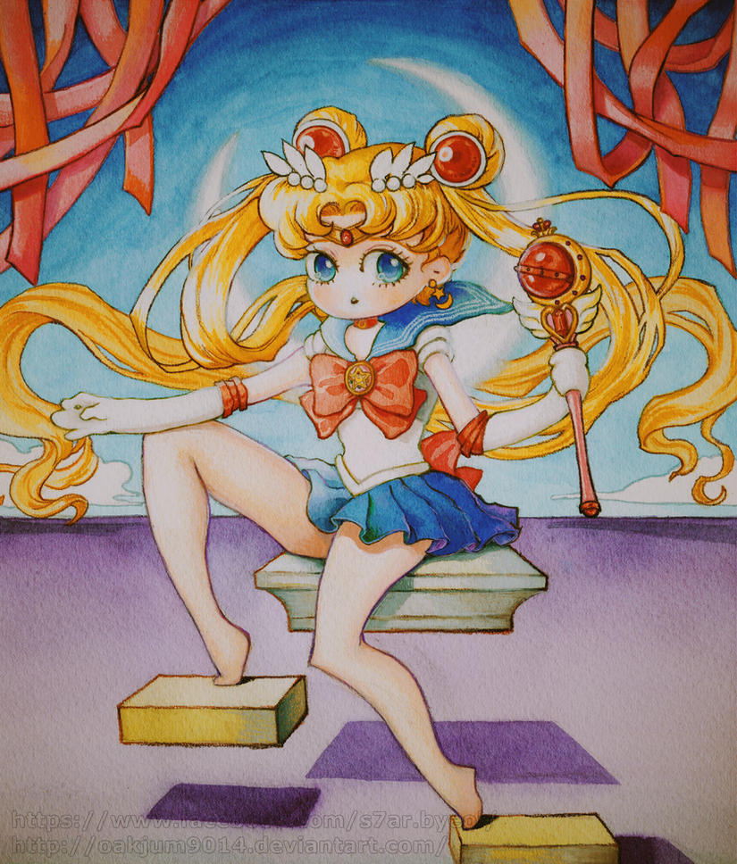 The Sailor Moon Of Somewhere by OakJum9014