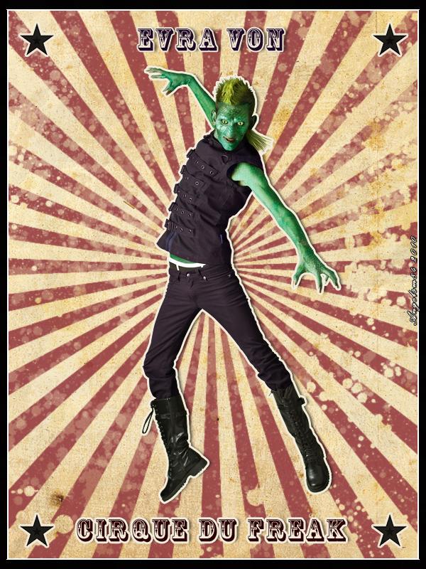 Evra Von - Cirque Du Freak by angelsm84