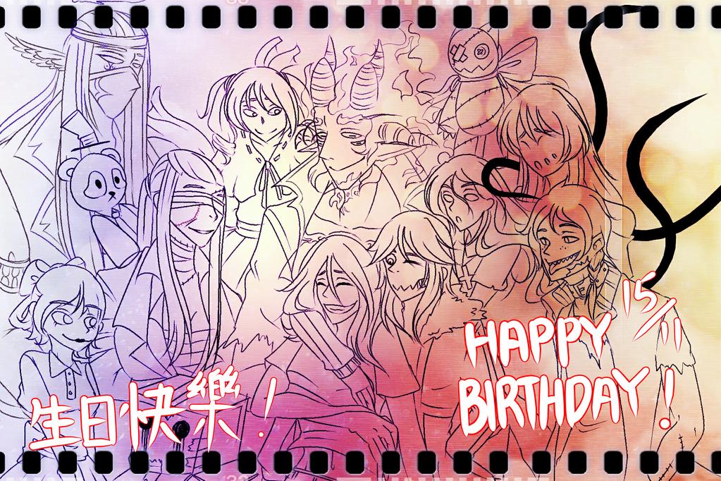 Happy Birthday Mommy ~ Happy birthday mommy ~! by boxgirlvivi on deviantart