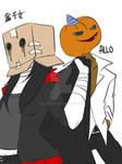 Doodle : Box and Pumpkin