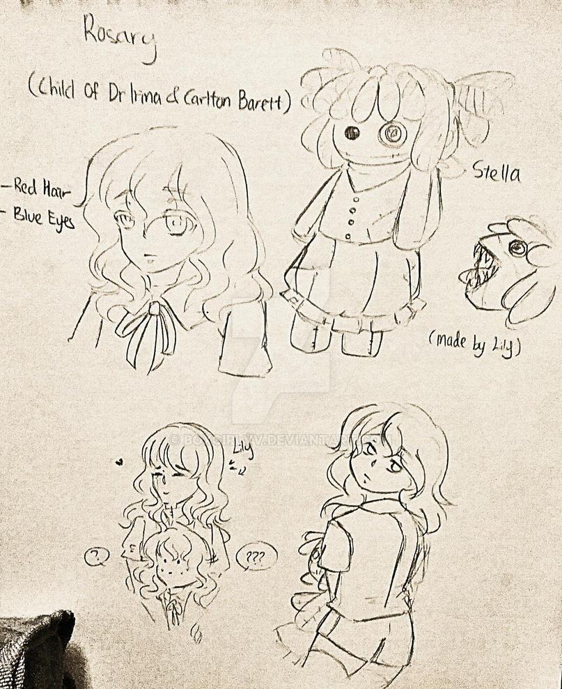 Rosary Barrett (Child of Dr Irina and Carlton) by BoXGirlVivi on ...