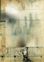 Grungy paper texture v.14