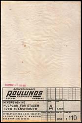 Grungy paper texture v.19