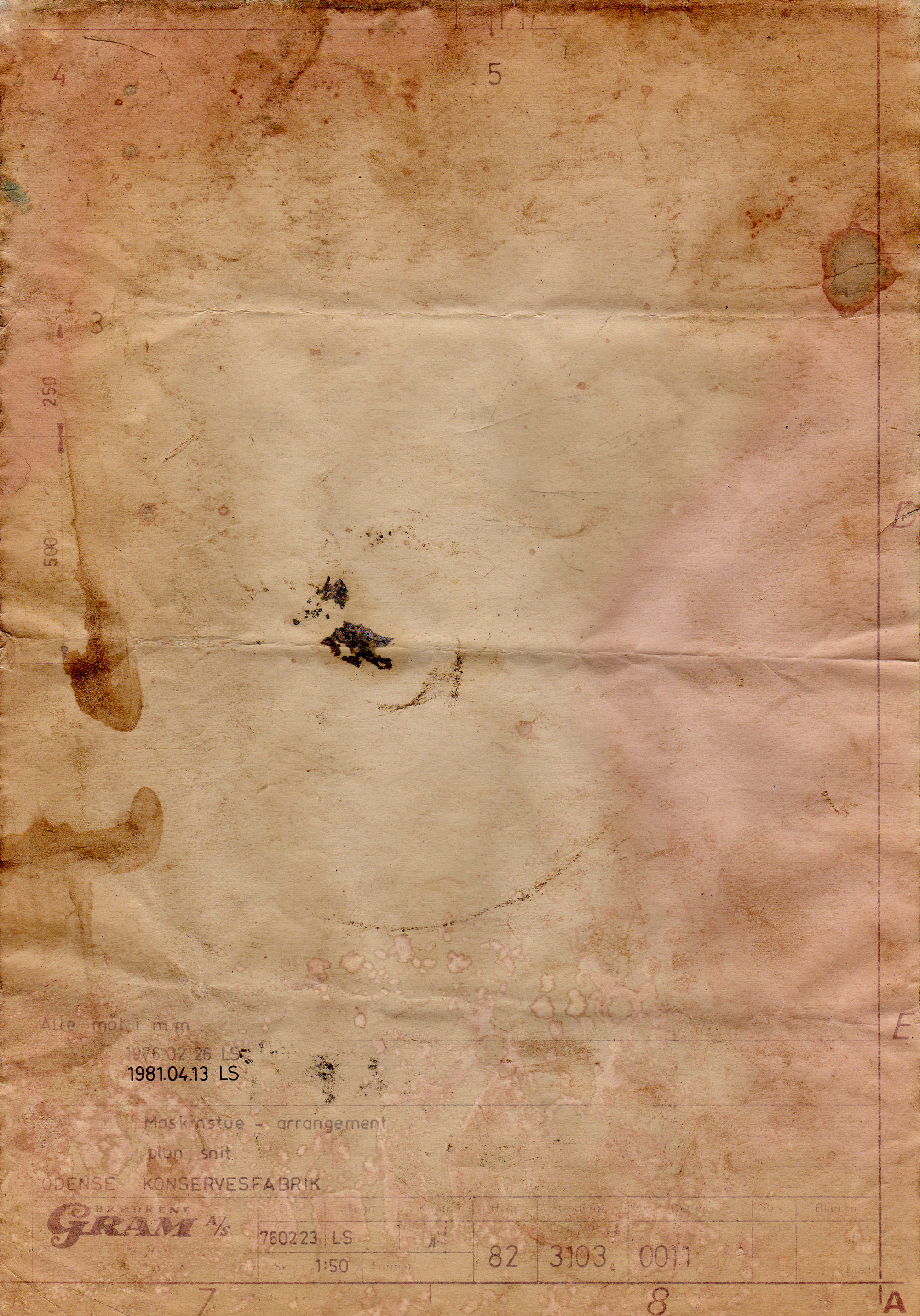 Grungy Paper Texture V1 By Bashcorpo