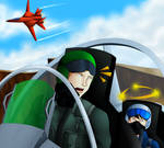 Someone's Gonna Blow Chunks in the Cockpit! by BlizzardCaster