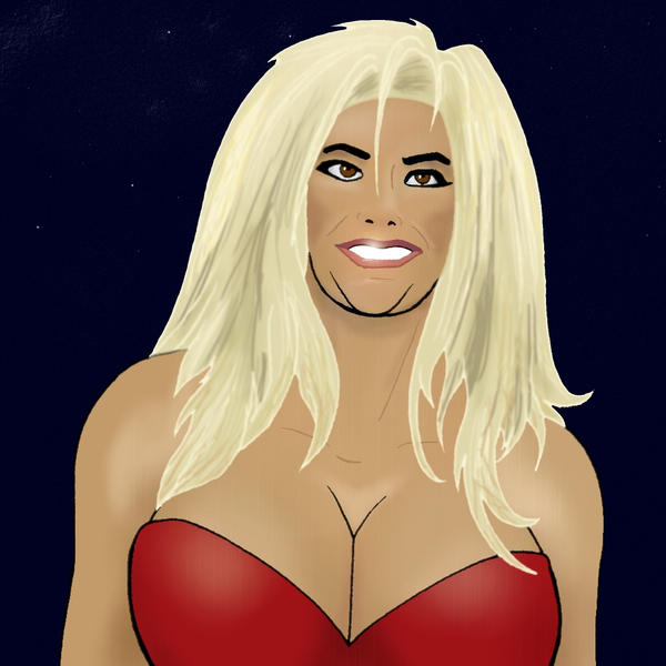 Anna Nicole Smith by UnGainlyTramp