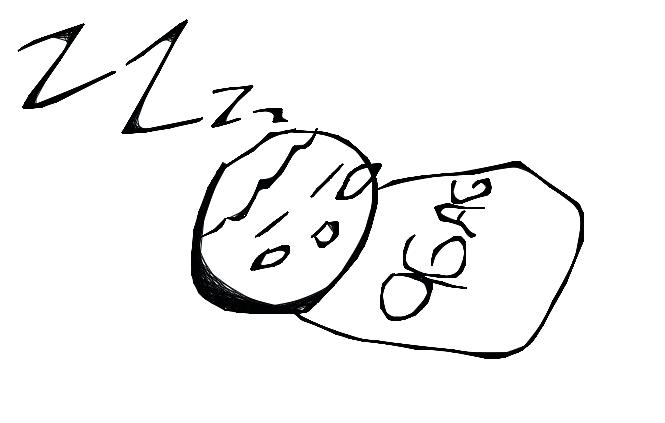 9gag Chan Sleeping By Iskwania