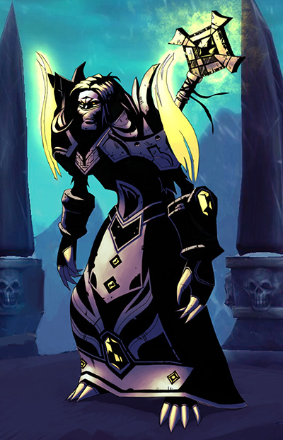Undead Shadow Priest Art Undead priest by alexiarts