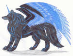 Saphir-the wolf of darkness