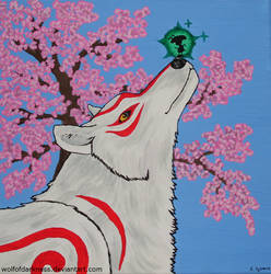 Amaterasu and Issun