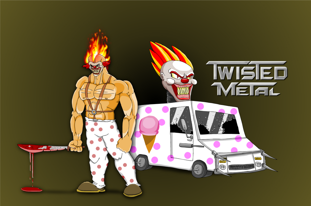 Sweet tooth of twisted metal by boombusterbb on deviantart - Sweet tooth wallpaper twisted metal ...