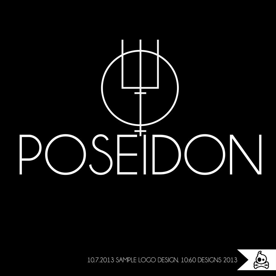 Poseidon Symbol Tattoo 'poseidon' logo design by