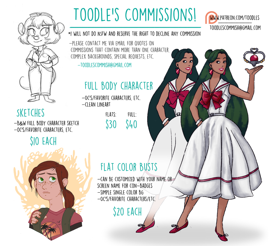 Commission Template New by Toodles3702