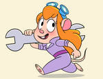 Gadget Hackwrench (New  Chip n Dale Style!)