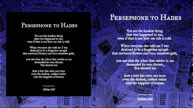 Persephone To Hades