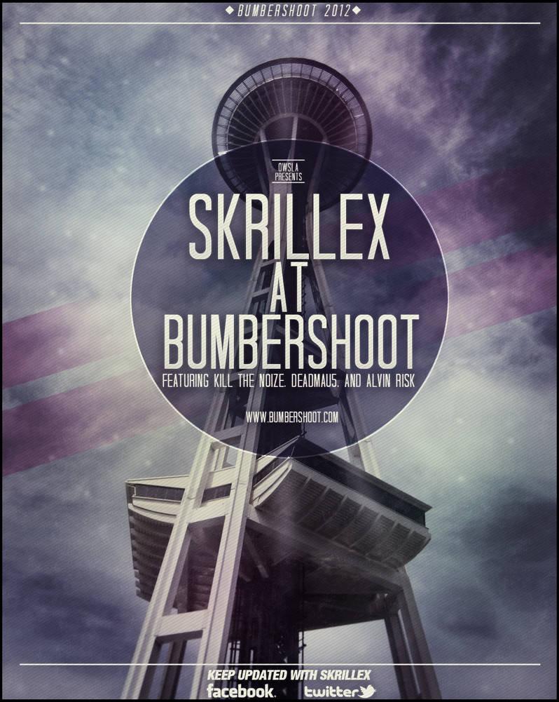 Skrillex Poster and Flyer Design by ThrasherDzn on DeviantArt