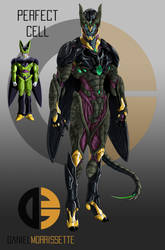 Perfect Cell Realistic Concept by dmorrissette21