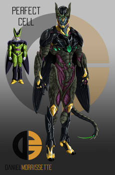 Perfect Cell Realistic Concept