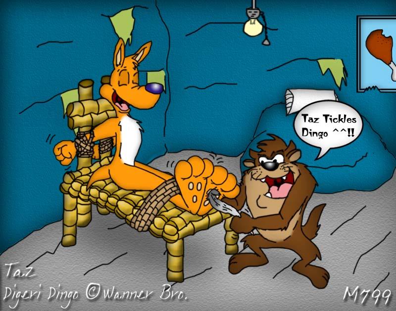 Digeri Dingo: Taz Tickle Dingoooo By Mamei799tickle On DeviantArt
