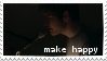 make happy stamp by hyenatxt